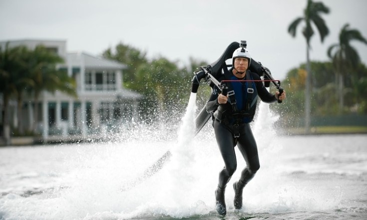 water jet pack