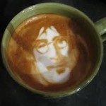 John Lennon appears in a Latte