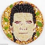 Simon Cowell's Pizza Face