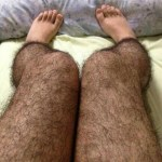 Hairy Leg Anti-Pervert Tights