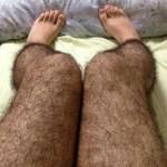 Hairy Leg Anti-Pervert Tights