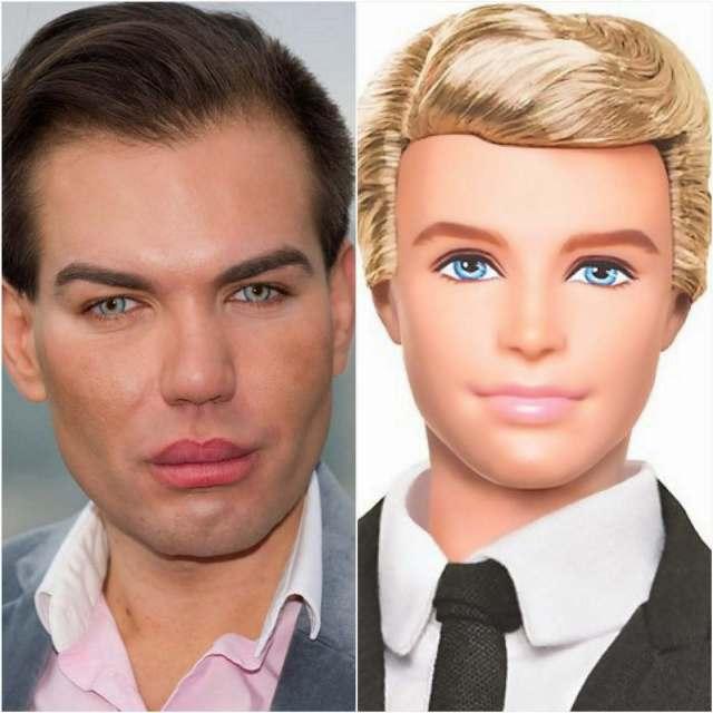 ken doll human weird