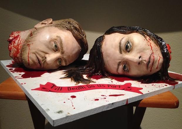 horror cake odd strange