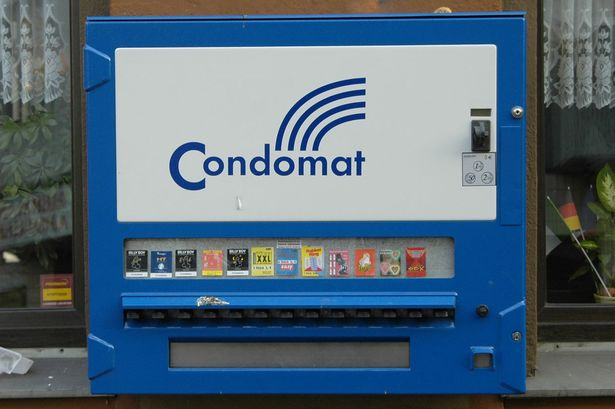 Man Killed by Condom Machine