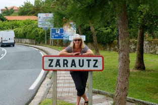 Ja, Zarautz, waar het altijd feest schijnt te zijn! Zarautz, where it always seems to be party time!
