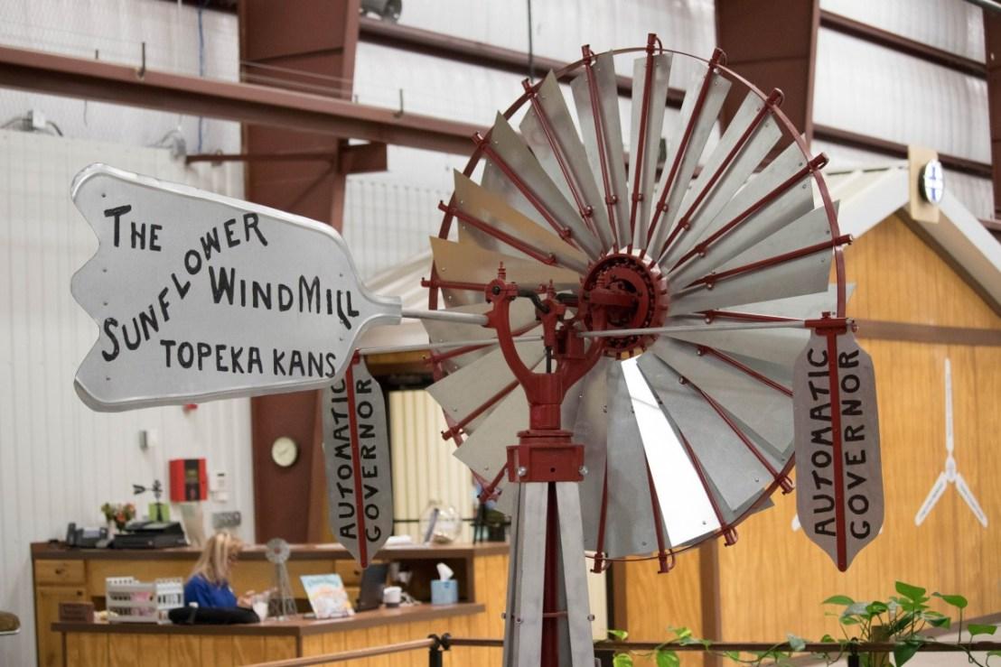 Sunflower Windmill