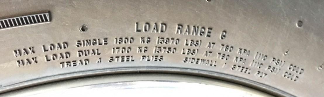Load Range G