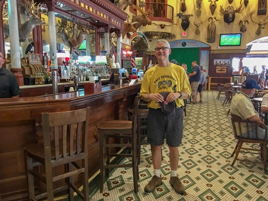 The Buckhorn Saloon's Bar