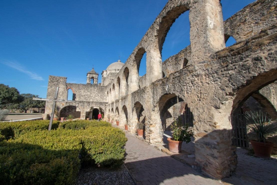 The Convento at Mission San Juan
