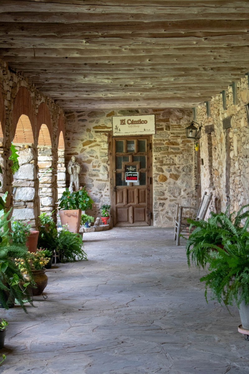 Mission San Francisco De La Espada Gift Shop Closed