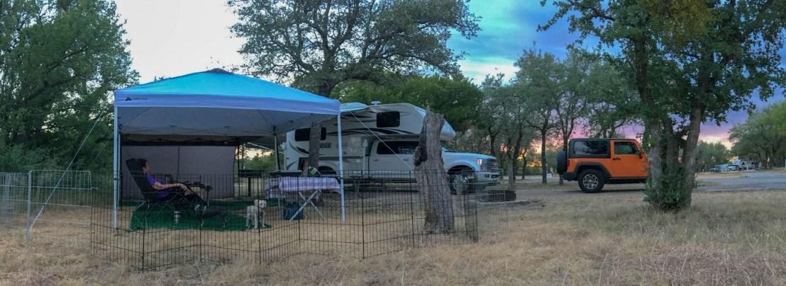 Lake Brownwood State Park, Texas