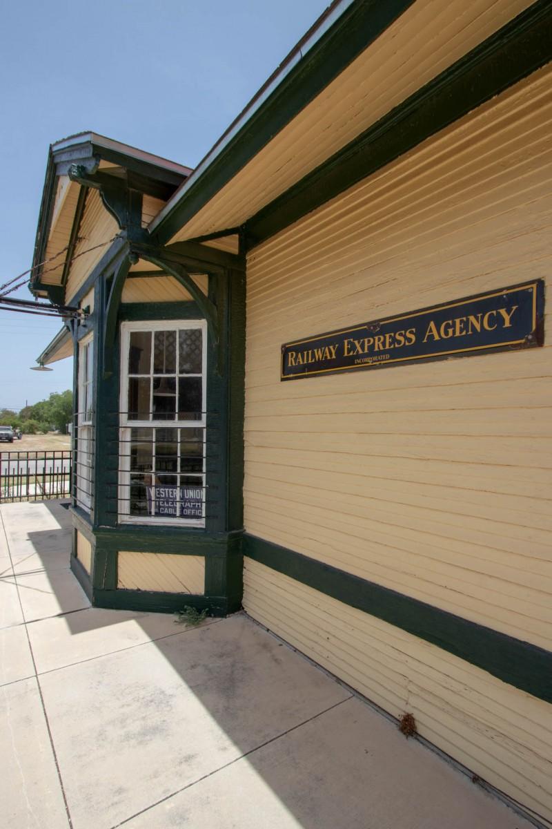 The Kress Depot at The Lehnis Railroad Museum