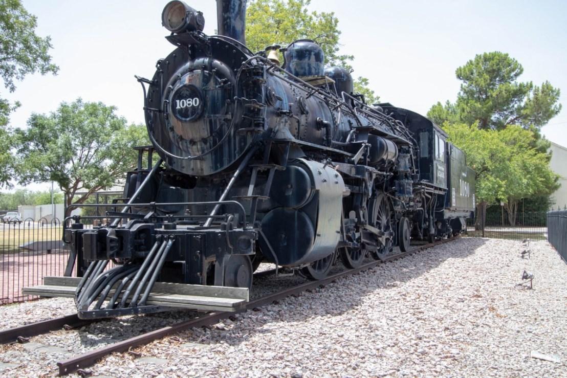 Santa Fe ATSF 2-6-2 1080 Locomotive