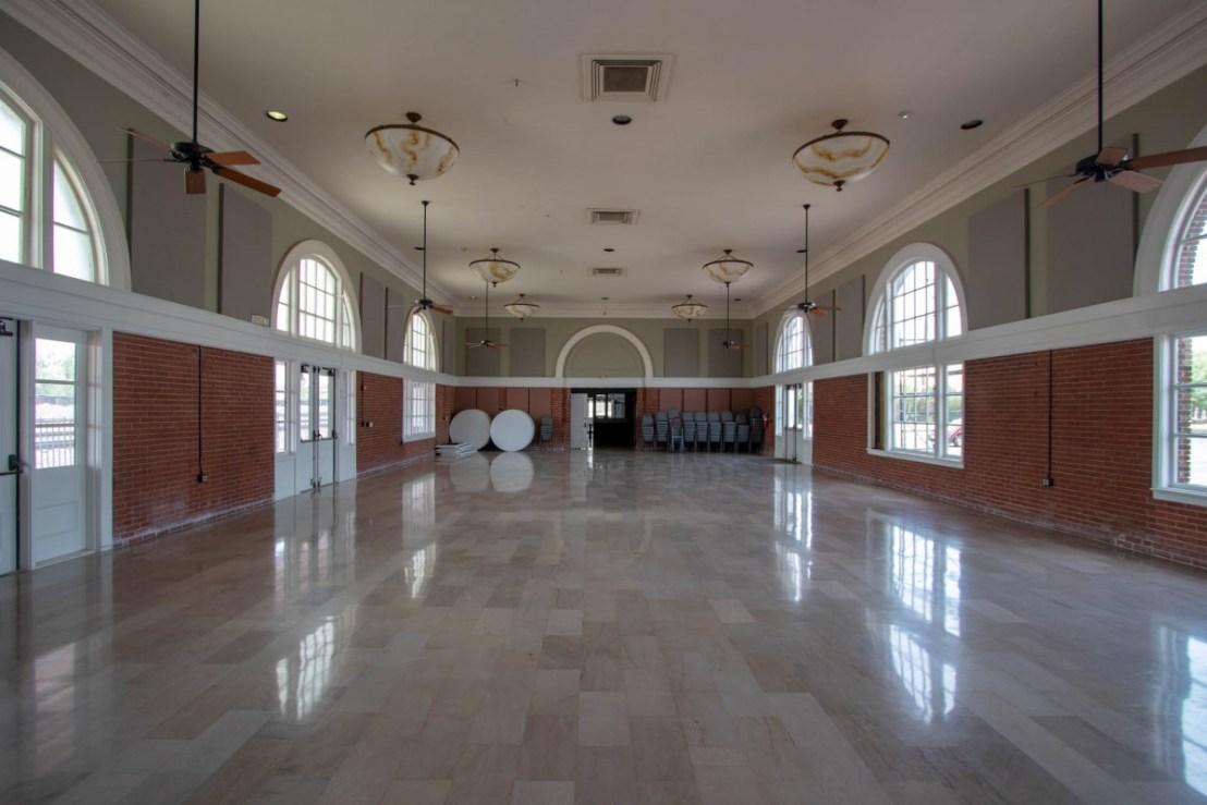 Brownwood Santa Fe Passenger Depot Interior