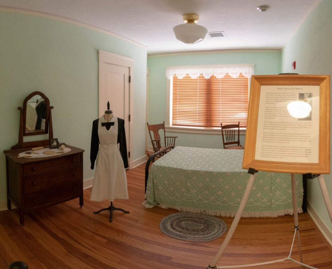 Harvey Girl Room at Brownwood Santa Fe Harvey House