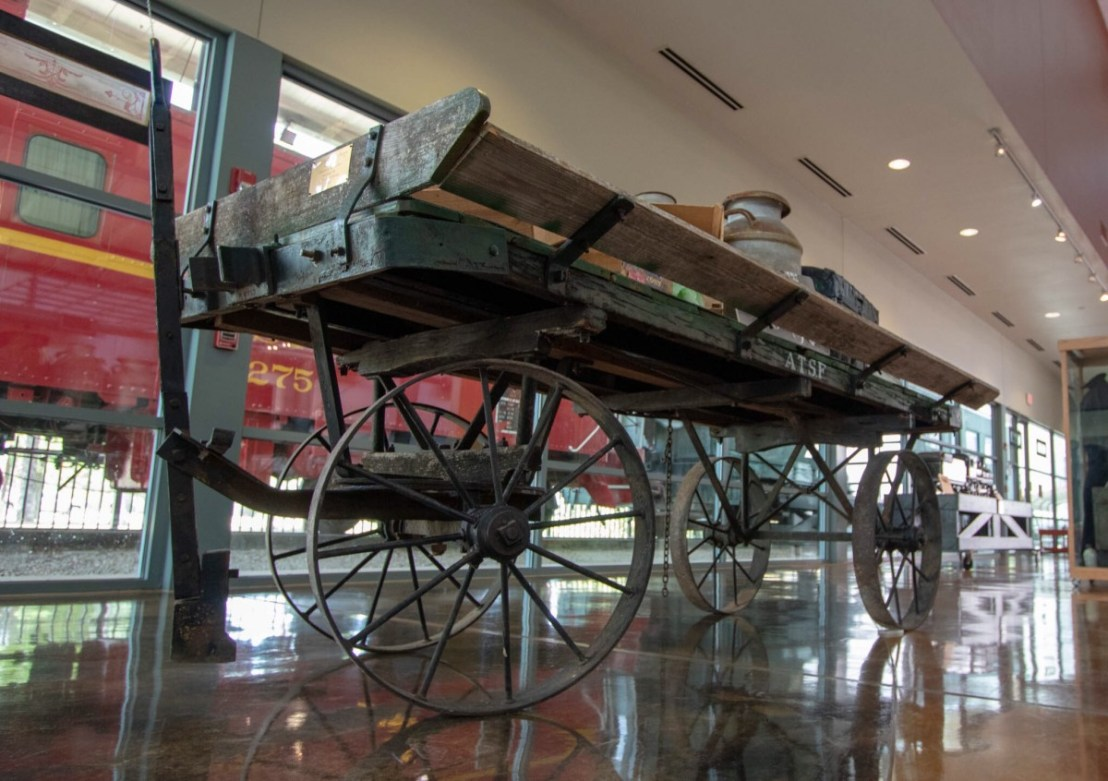 Baggage Cart at Lehnis Railroad Musuem