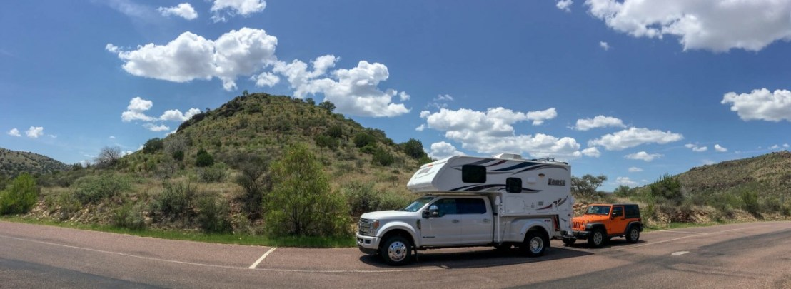 Davis Mountains State Park Ranger Station Parking