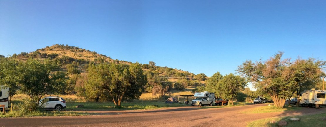Davis Mountains State Park Campsite