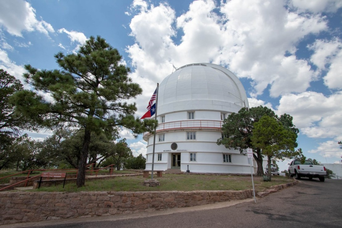 Otto Struve Telescope - Front View