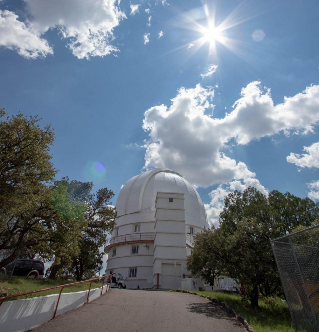 Otto Struve Telescope - Rear View