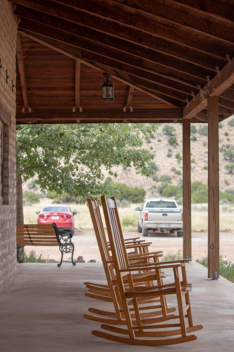 Nature Center Wraparound Porch