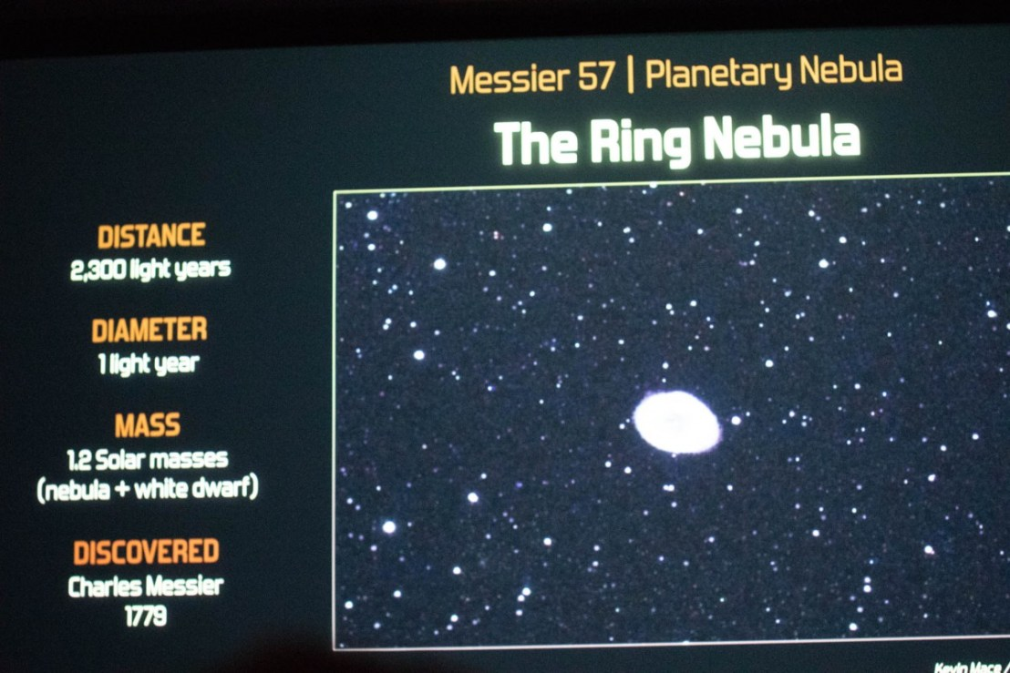 Ring Nebula Info-Graph