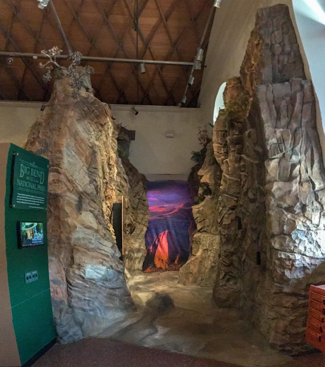 Big Bend National Park Display