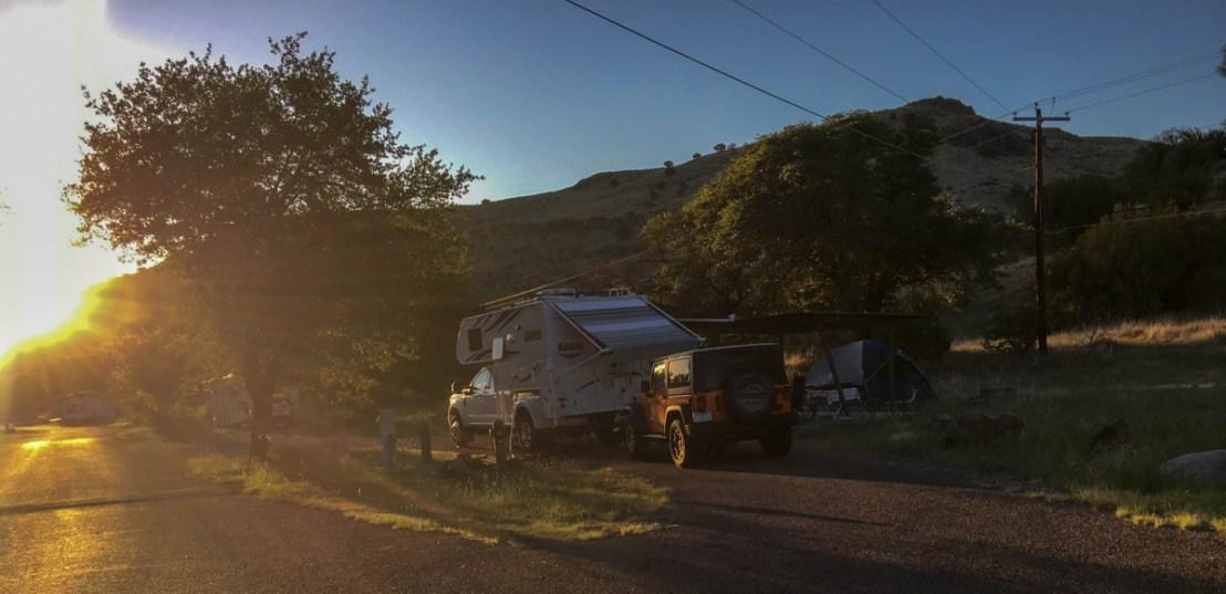 Campsite Sunrise