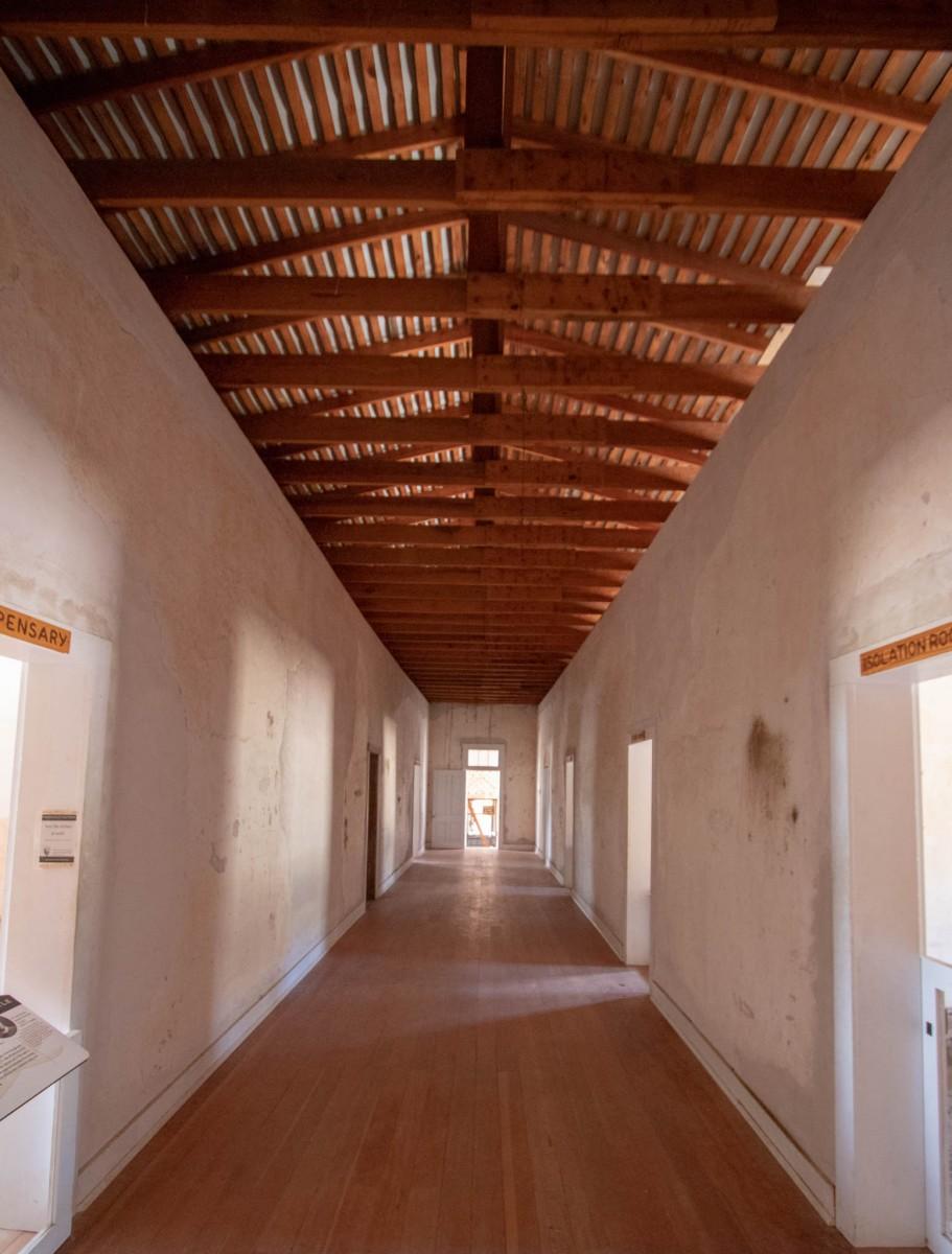 Hospital Bat Hallway