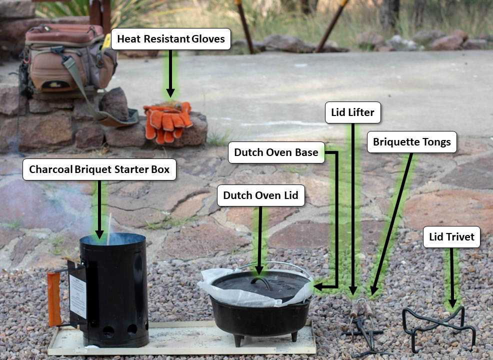 Dutch Oven Kit
