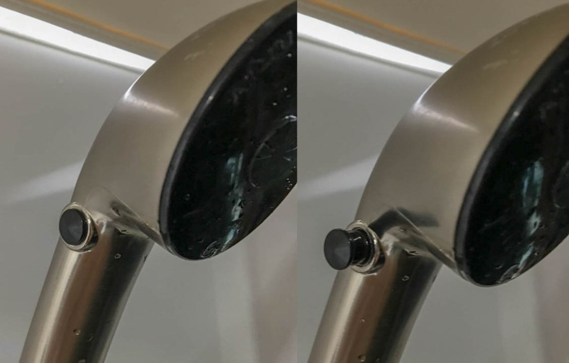 Shower Head - Water On/Off