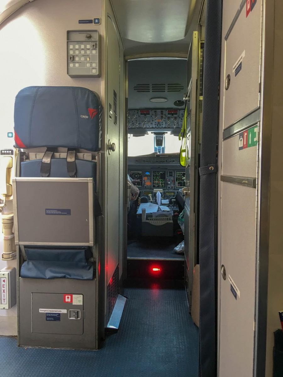 Salt Lake City, Utah to Eugene, Oregon Delta Flight