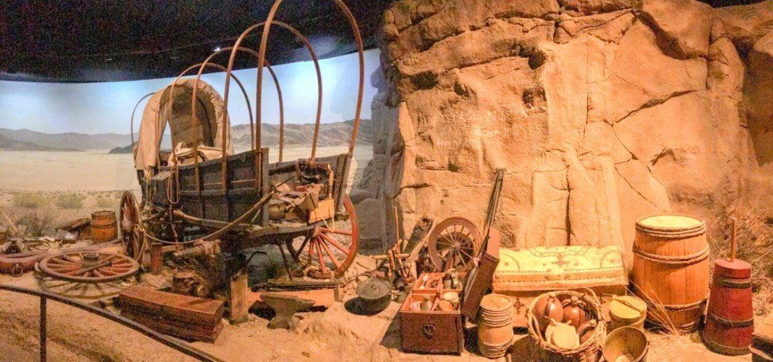 19th Century Oregon Trail Wagon