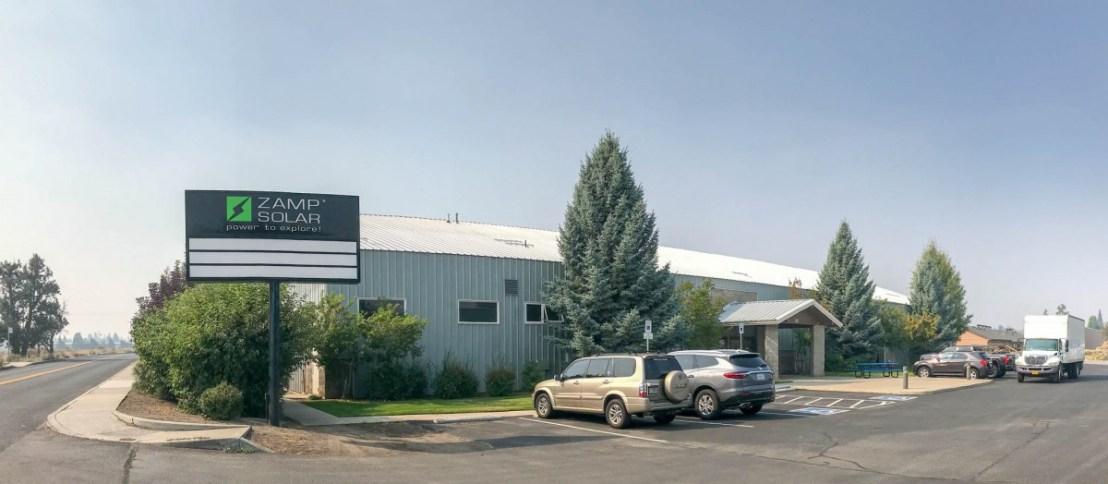 Zamp Solar Factory in Bend, Oregon