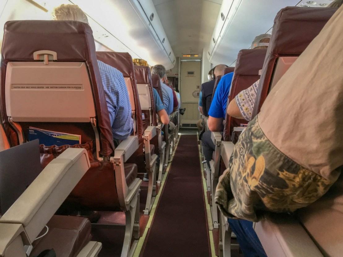 Alaska Airlines Regional Aircraft Interior