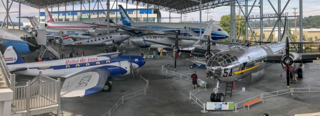 The Museum of Flight Aviation Pavilion