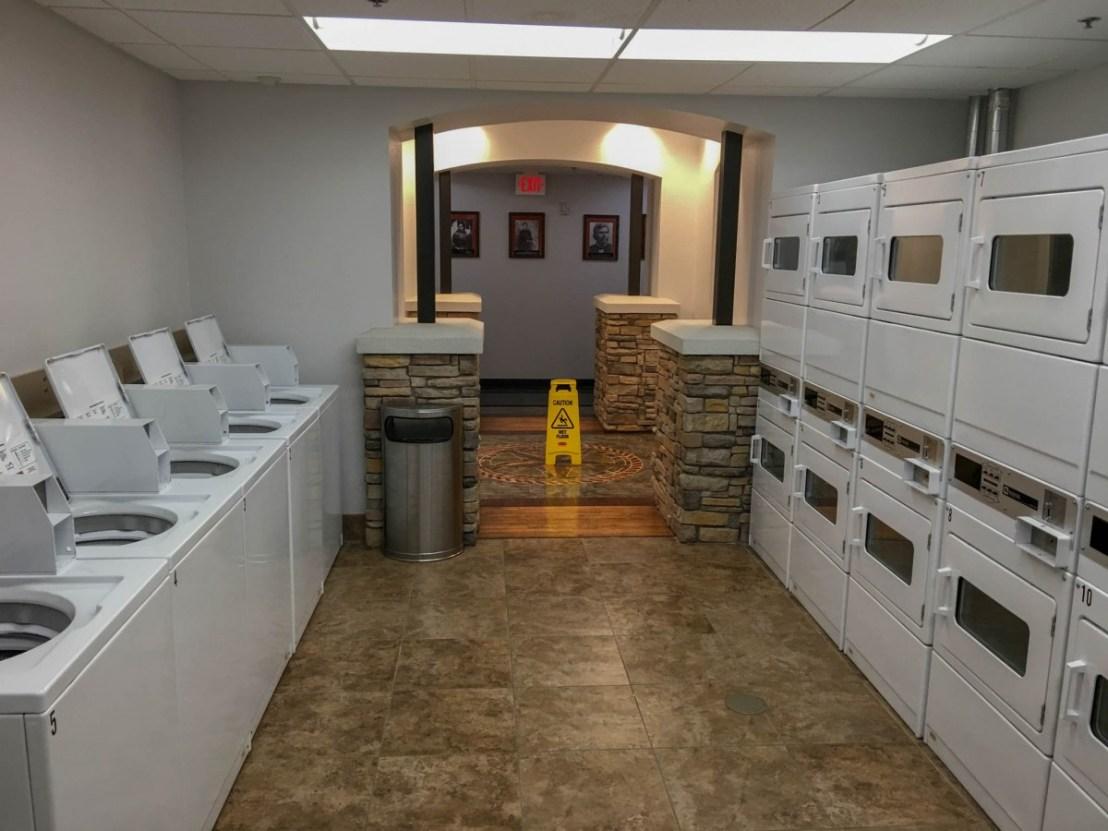 Laundry Room at Durant/Choctaw Casino KOA