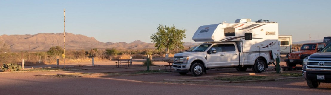 April 2018 Van Horn RV Park