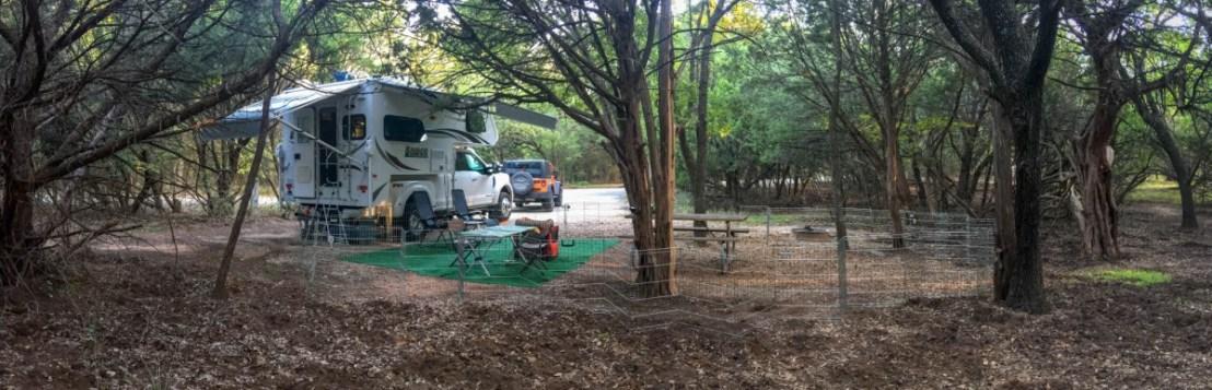 Abilene State Park Campsite