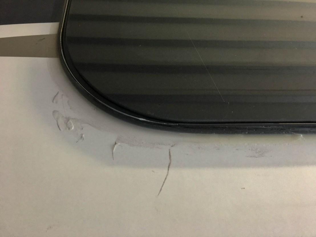 Kitchen Window Caulk Job