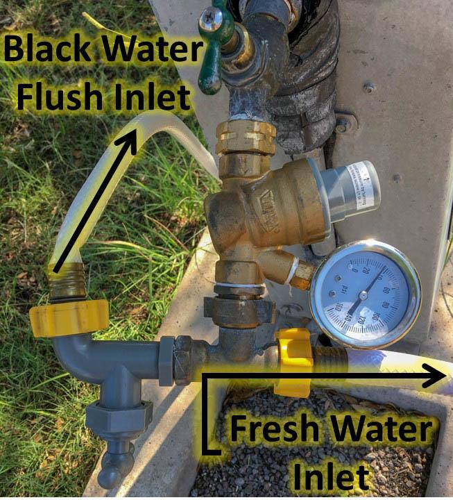 Water Distribution After Pressure Regulator