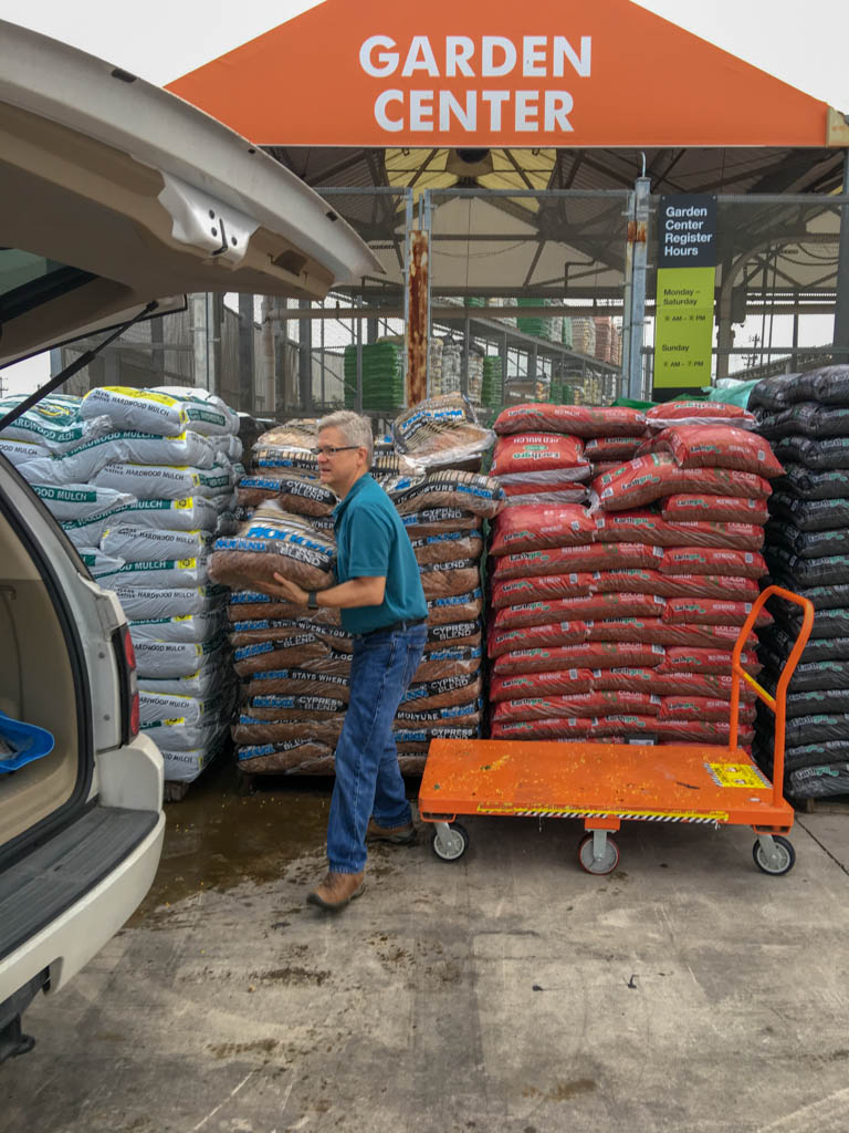 Buying Mulch At Home Depot