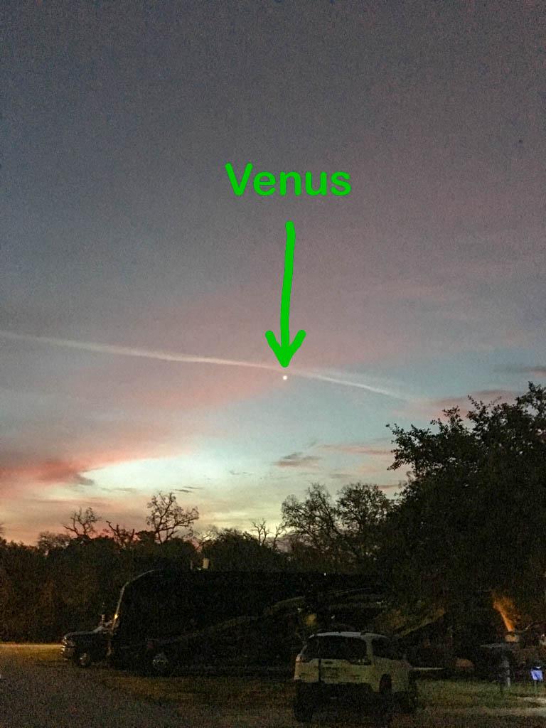 Venus In The Morning Sky