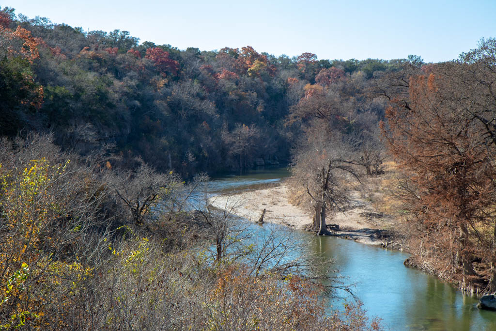 River View From Scenic Overlook