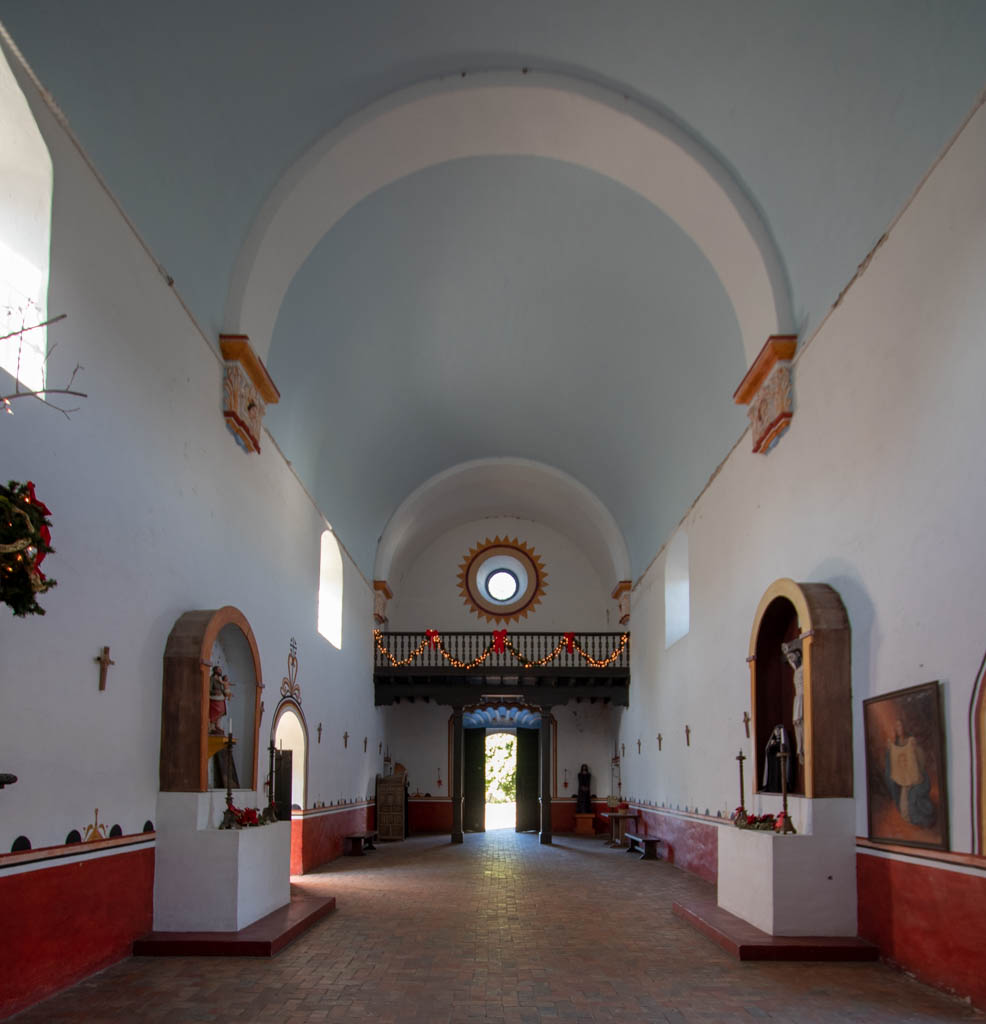 Mission Espiritu Santo Looking Toward The Choir Loft (back)