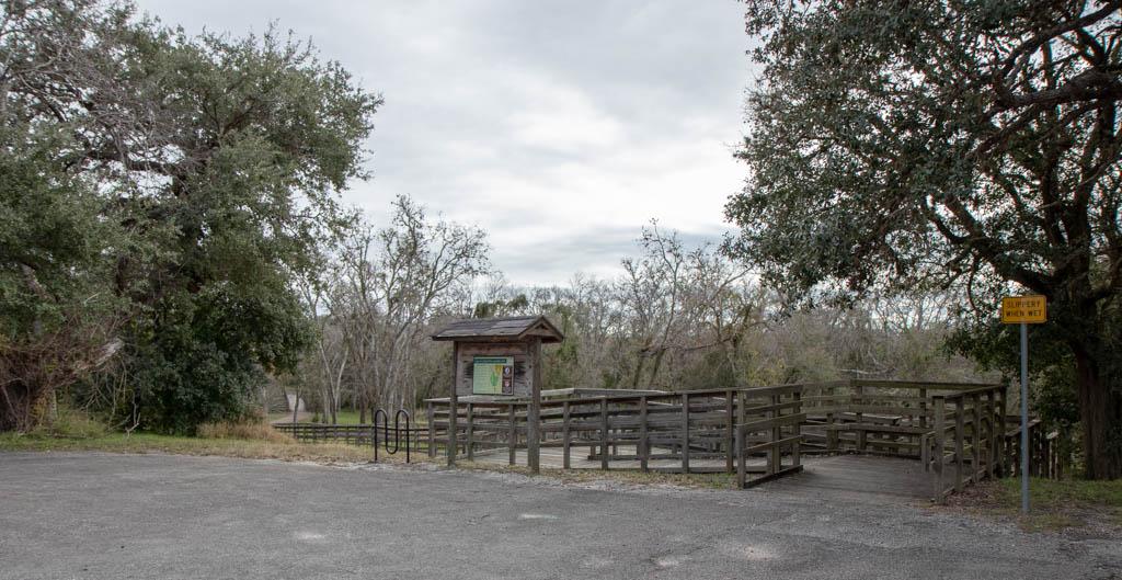 Angel of Goliad Hike and Bike Trail