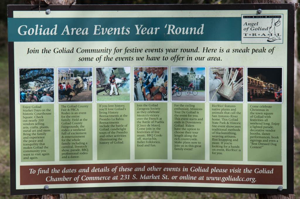 Goliad Area Annual Events
