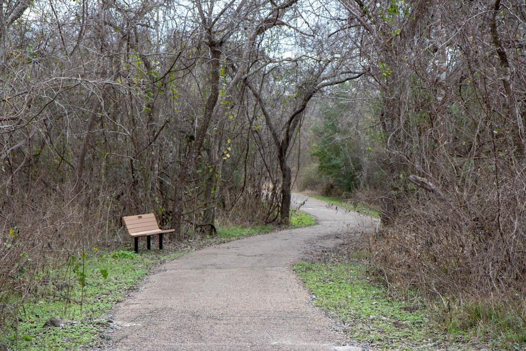 Trail Turns Toward US-183
