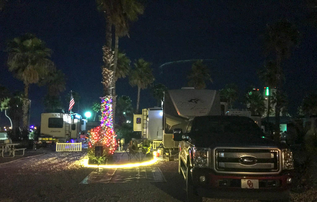 Fifth Wheel @ South Padre Island KOA