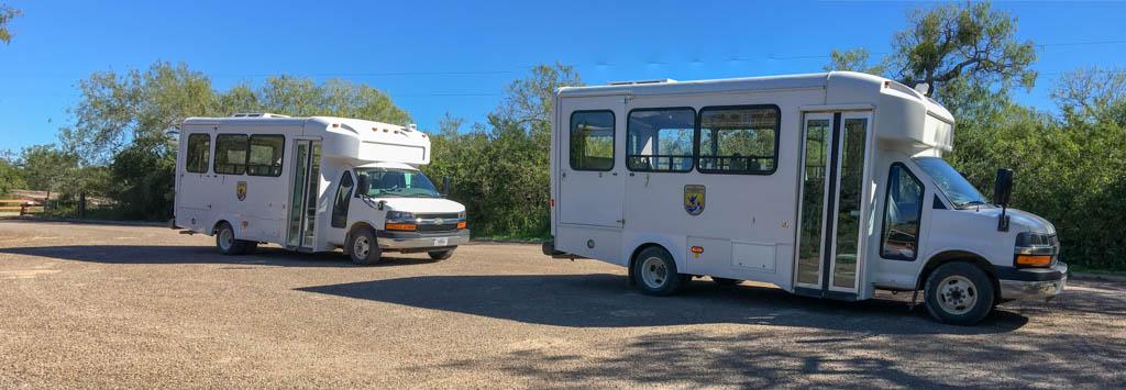 US Fish & Wildlife Service Buses